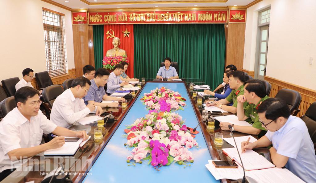 Ban Bầu cử đại biểu Quốc hội khóa XV đơn vị bầu cử số 2 triển khai nhiệm vụ