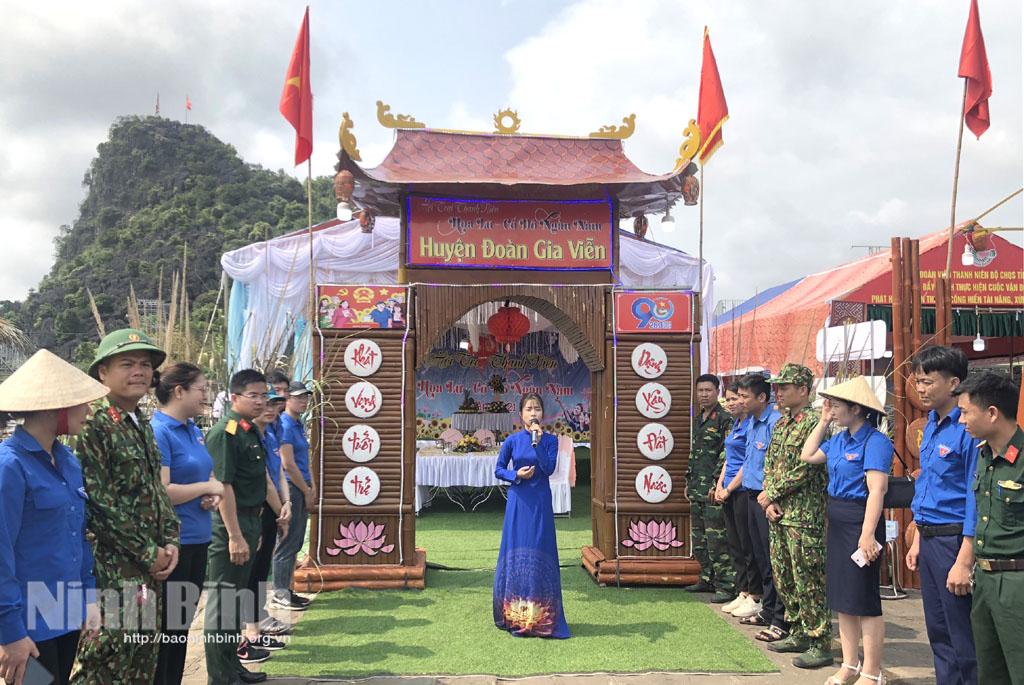 Nét đẹp Hội trại Thanh niên tại Lễ hội Hoa Lư 2021
