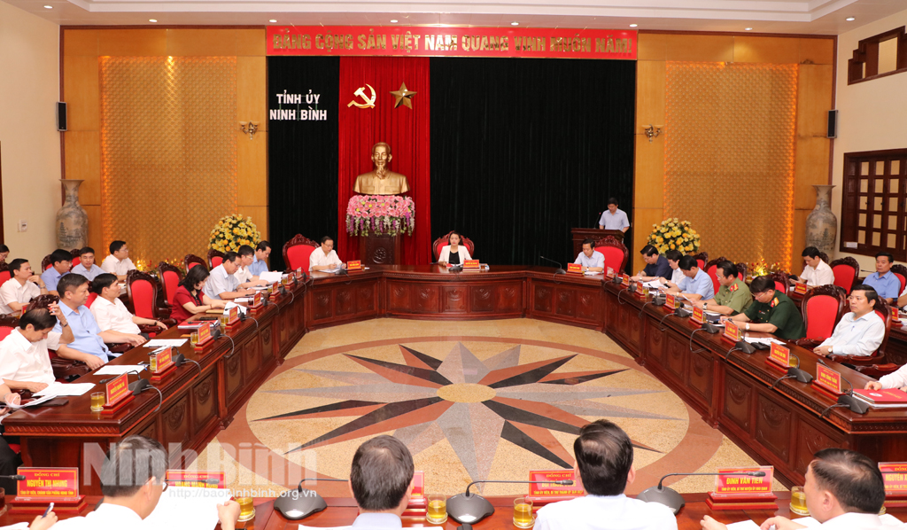 Hội nghị Ban chỉ đạo, lãnh đạo cuộc bầu cử đại biểu Quốc hội khóa XV và bầu cử đại biểu HĐND các cấp nhiệm kỳ 2021-2026