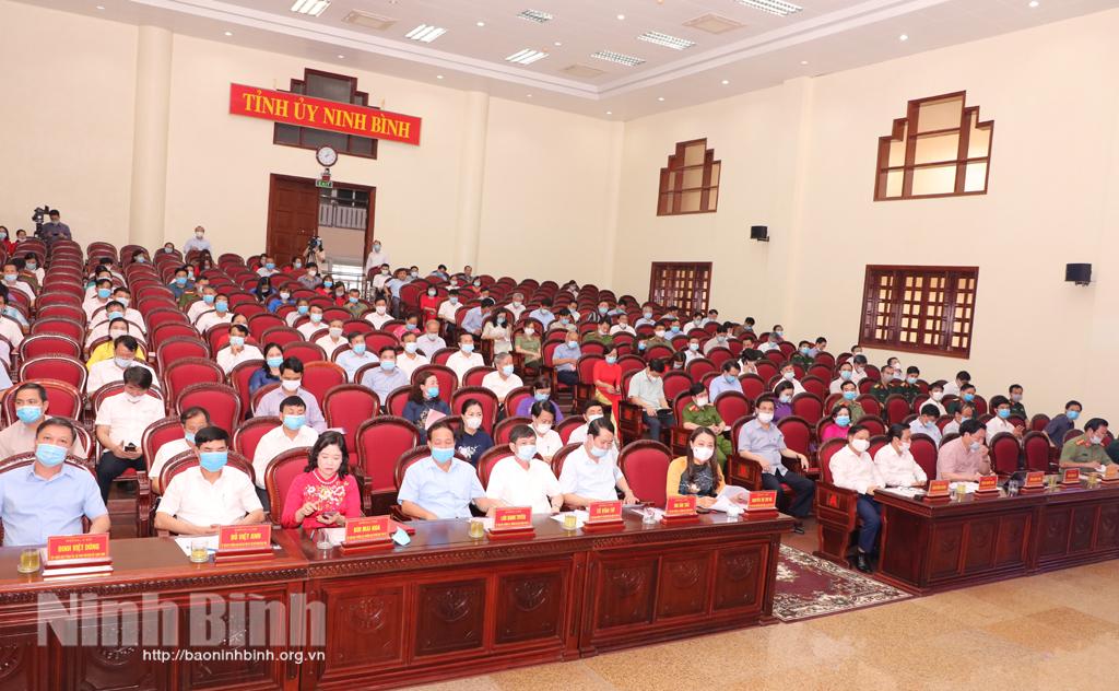 Sơ kết 5 năm thực hiện Chỉ thị 05 của Bộ Chính trị (khóa XII) về đẩy mạnh học tập và làm theo tư tưởng, đạo đức, phong cách Hồ Chí Minh