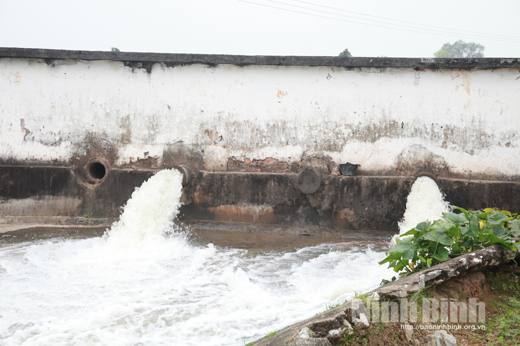 Yên Mô, củng cố, nâng cấp các công trình phòng chống lụt bão