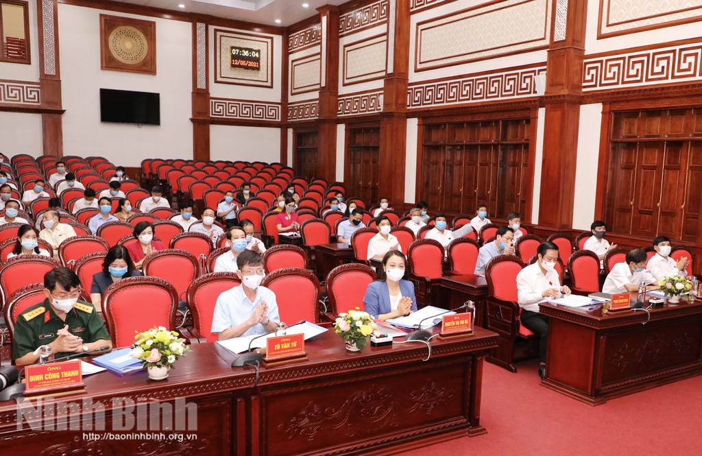 Tổ chức kỳ họp thứ 24, HĐND tỉnh khóa XIV