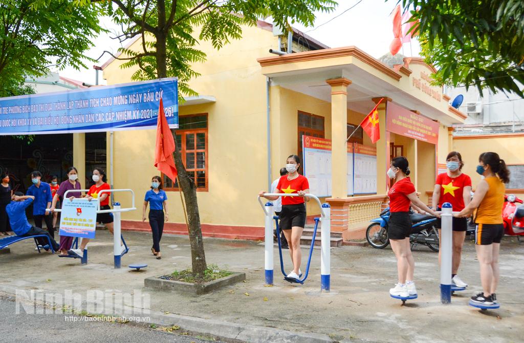 Khánh thành công trình thanh niên chào mừng bầu cử đại biểu Quốc hội khóa XV và bầu cử HĐND các cấp nhiệm kỳ 2021-2026