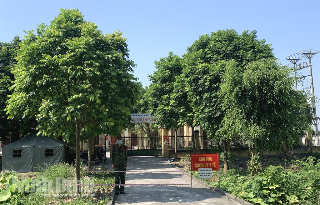 Trường hợp dương tính với COVID-19 tại xã Khánh Lợi đã được giám sát chặt chẽ