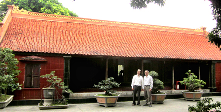 Ancient houses, precious assets of Truong Yen commune