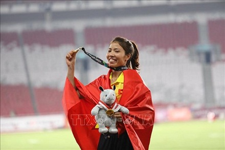 ASIAD gold medalist named most outstanding athlete in 2018
